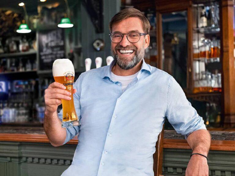 Jürgen Klopp je novým ambasadorem pivovaru Erdinger Weissbräu