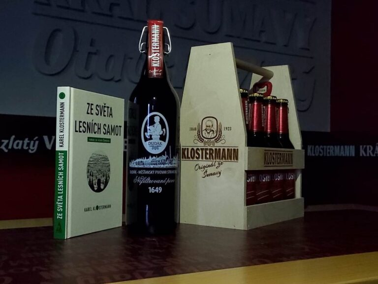 Pivovar Dudák slaví narozeniny Karla Klostermanna speciální edicí piva