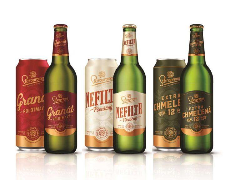Staropramen uvádí do obchodů piva Smíchovského výběru