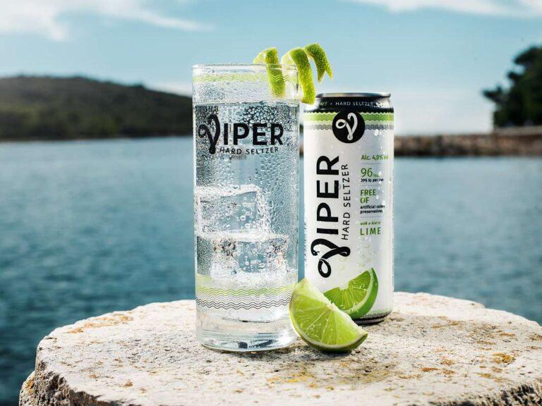 Prazdroj představuje nový alkoholický nápoj Viper Hard Seltzer